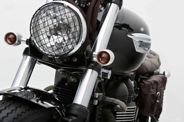 Мастерская Ellaspede представила новый кастом на базе мотоцикла Triumph Bonneville. Изображение № 5.