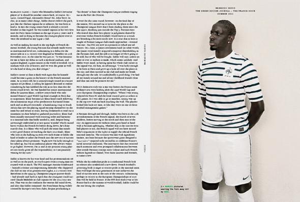 Special Issue: Футбольный журнал The Green Soccer Journal. Изображение № 9.