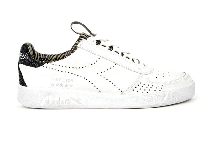 Итальянские марки Diadora и The Editor выпустили совместную коллекцию кроссовок. Изображение № 1.