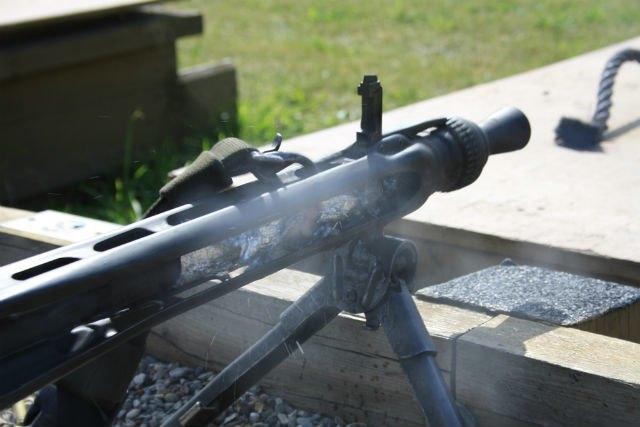 Пользователь Reddit приготовил бекон при помощи пулемёта. Изображение № 3.