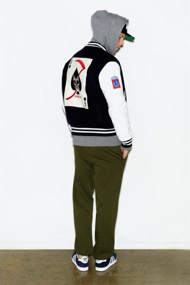 Марка Undefeated выпустила лукбук новой коллекции одежды своей линейки Holiday. Изображение №2.