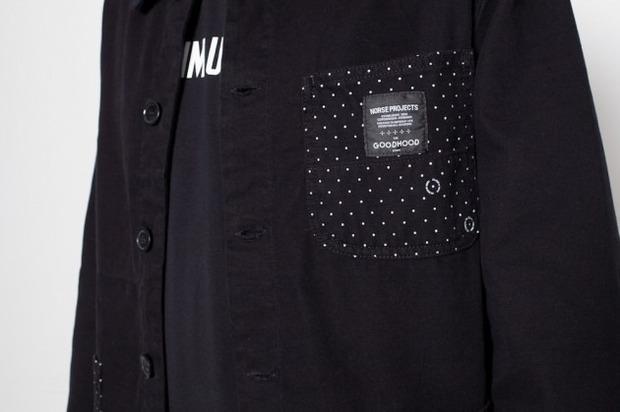 Марка Norse Projects и магазин GoodHood представили совместную коллекцию одежды. Изображение № 6.