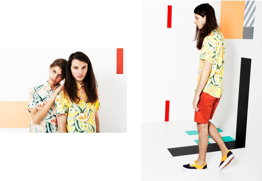 Магазин Kixbox выпустил лукбук весенней коллекции одежды. Изображение № 3.