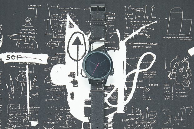 Марка Komono выпустила часы, оформленные работами Жан-Мишеля Баския. Изображение № 2.