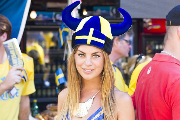 Красивые девушки на матчах Евро-2012. Изображение № 3.