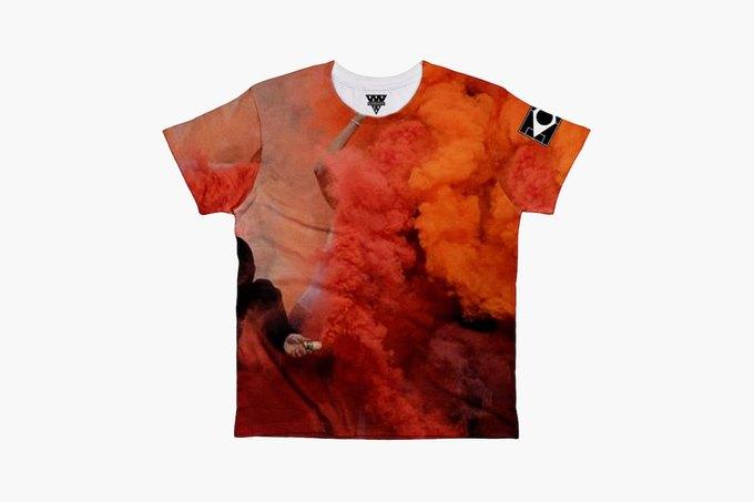Марка Eleven Paris к чемпионату мира по футболу представила коллекцию футболок. Изображение № 7.