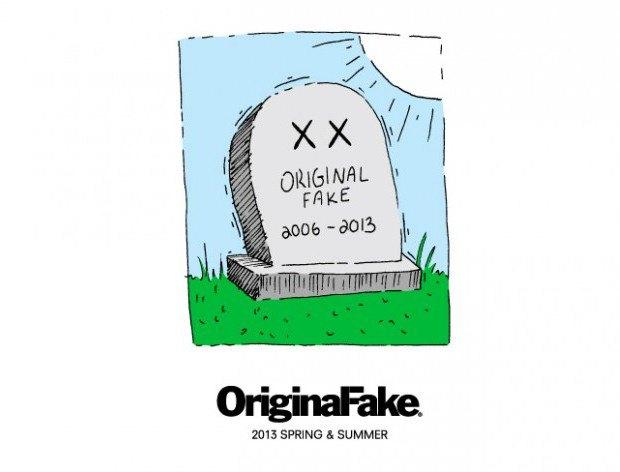 Марка Original Fake прекращает свое существование в мае. Изображение № 1.