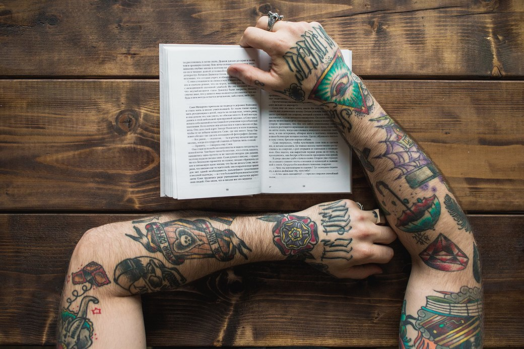 Обладатели «рукавов» рассказывают о своих татуировках. Изображение № 4.