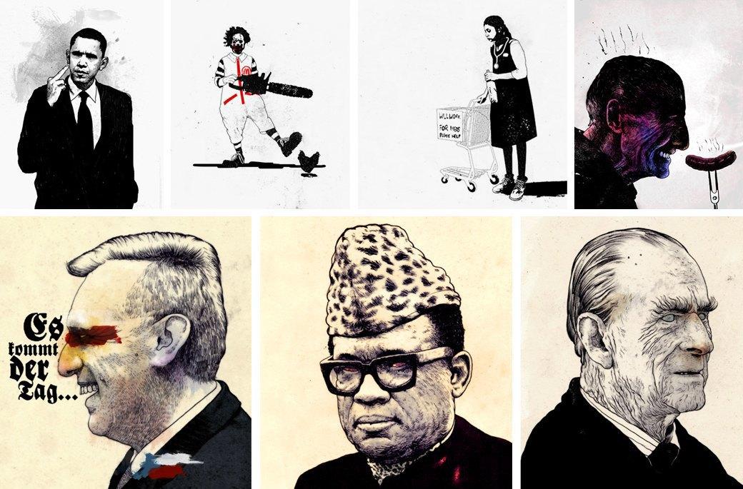 «Современное искусство — продукт для богатой элиты»: Интервью с иллюстратором Дэвидом Фолдвари. Изображение № 1.