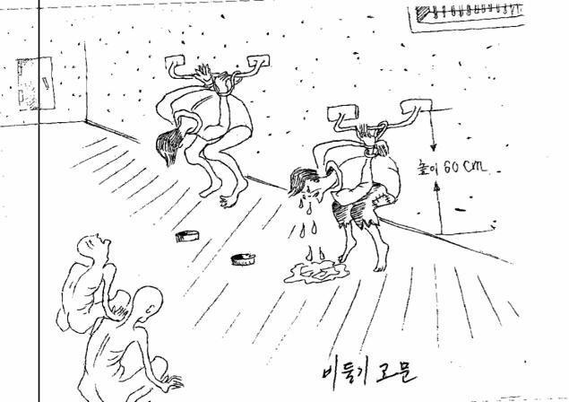Бывший заключённый проиллюстрировал зверства в тюрьмах Северной Кореи. Изображение № 1.