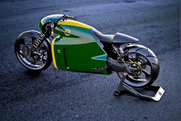Компания Lotus раскрыла спецификации своего первого спортивного мотоцикла C-01. Изображение № 1.
