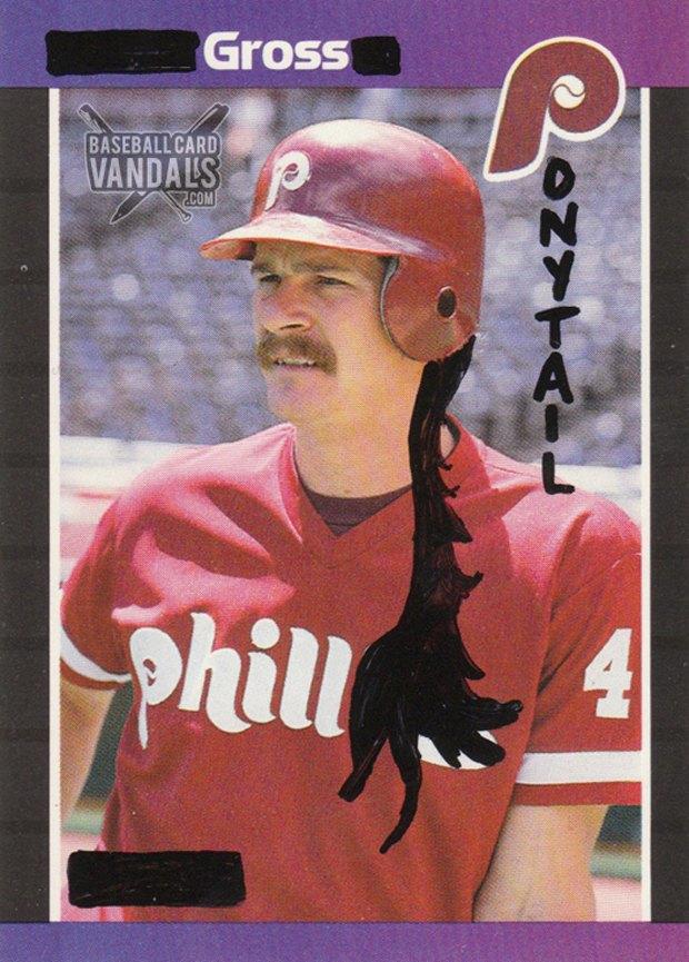 Baseball Card Vandals: Художники иронизируют над спортивными коллекционными карточками. Изображение № 12.