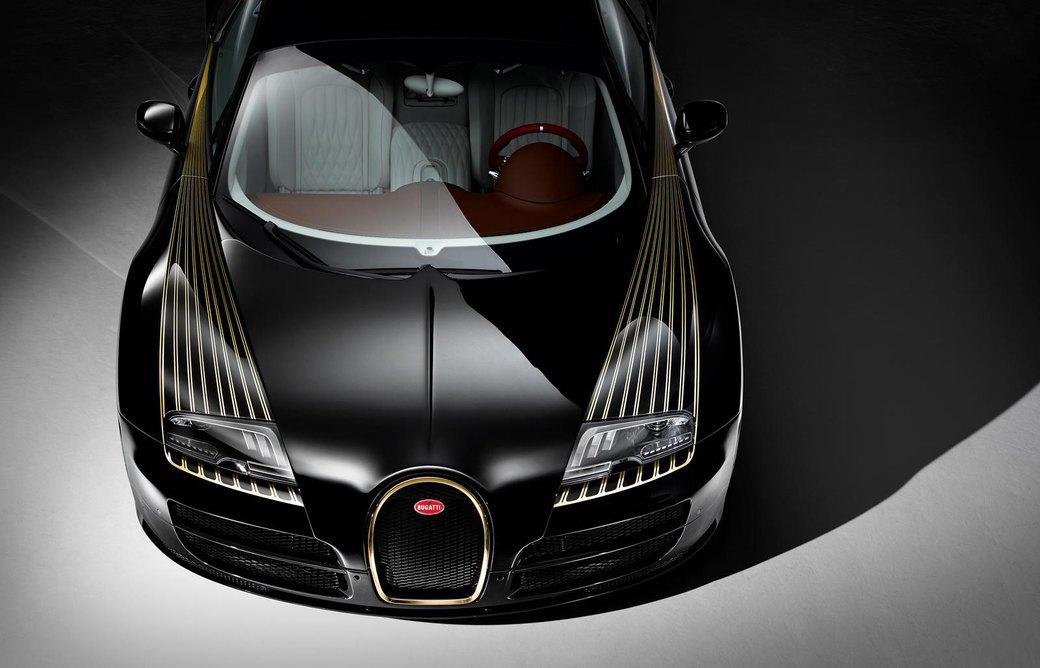 Bugatti представила отделанную золотом спецификацию Veyron Grand Sport Vitesse. Изображение № 4.