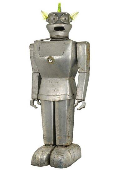 Человекоподобный робот 1957 года уйдет с молотка. Изображение № 5.