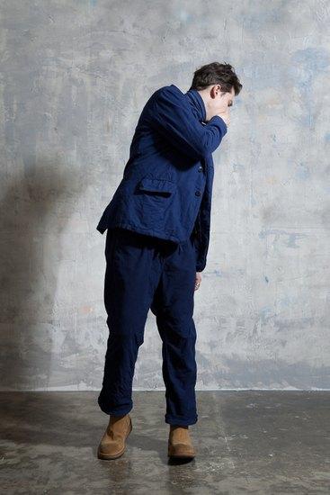 Японская марка Nonnative выпустила лукбук осенней коллекции одежды. Изображение № 23.