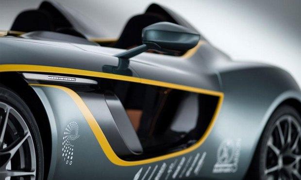 Aston Martin представил юбилейный спидстер CC100. Изображение № 10.