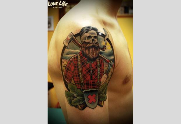 Избранные работы студии Love Life Tattoo. Изображение № 21.