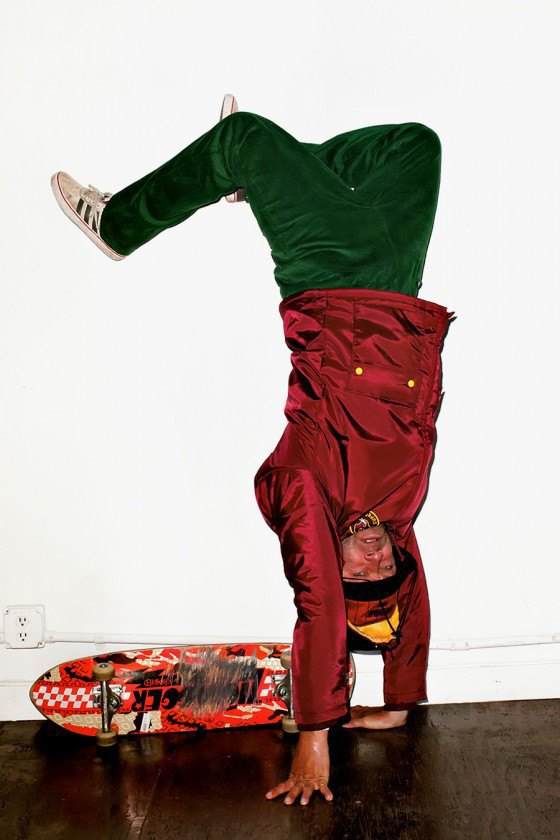 Терри Ричардсон снял Марка Гонсалеса в лукбуке марки Supreme. Изображение № 9.
