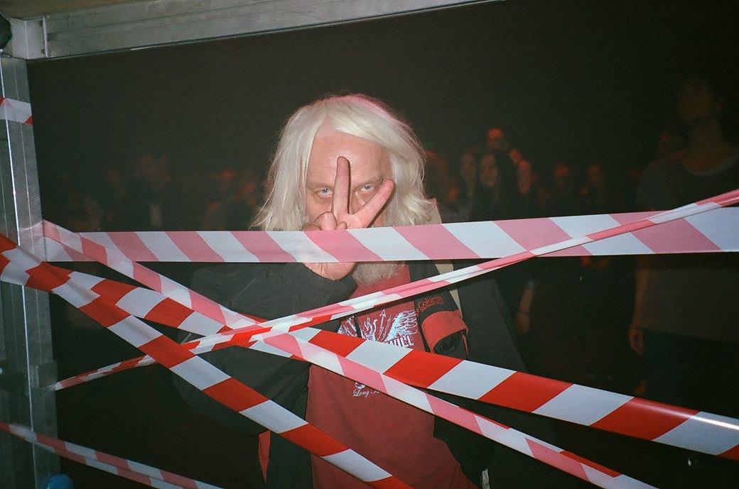 Фоторепортаж: Концерт «Панк-фракции красных бригад» в театре имени Вс. Мейерхольда. Изображение № 24.