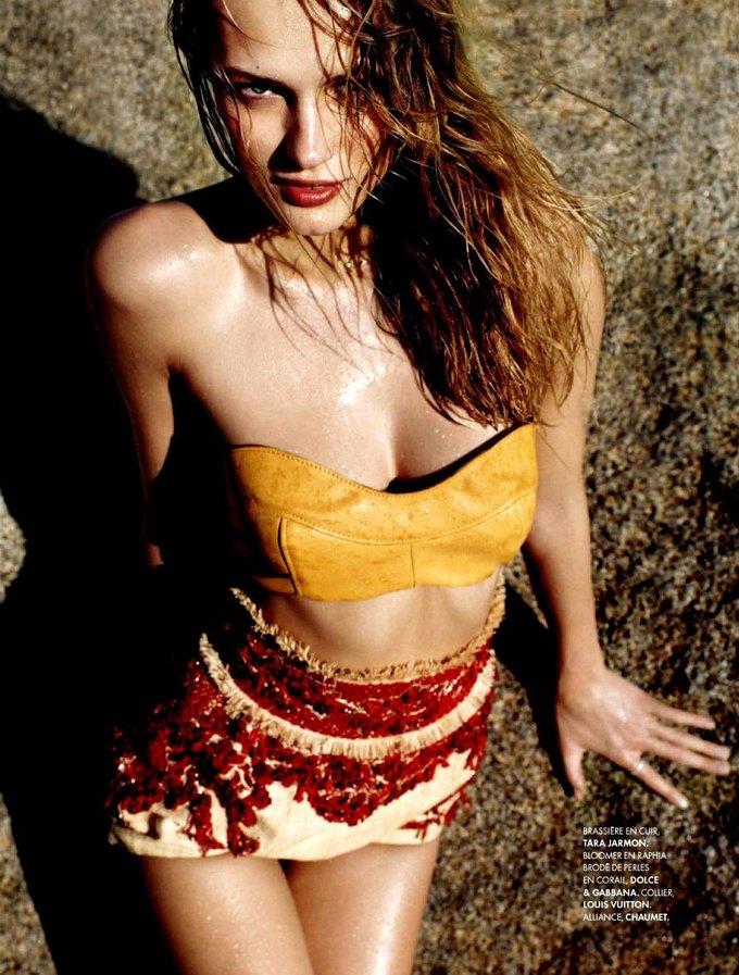 Модель Эдита Вилкевичуте снялась в фотосессии у фотографа Жана Велтерса. Изображение № 10.