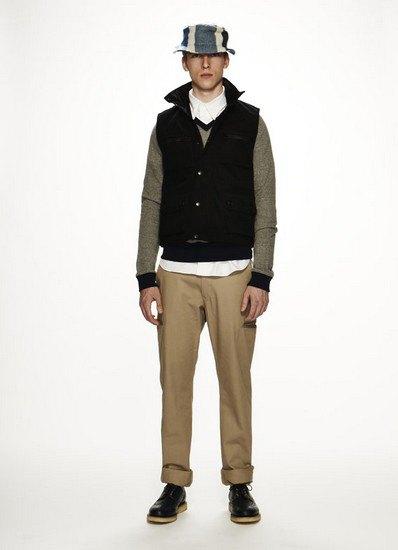 Марка Woolrich Woolen Mills опубликовала лукбук осенней коллекции одежды. Изображение № 4.