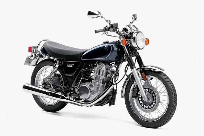 Yamaha показала первые изображения обновлённого байка SR400. Изображение № 1.