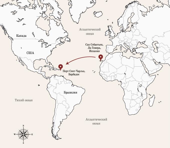 Одинокое плавание: 8 путешественников, пересекших Атлантику на весельной лодке. Изображение № 11.
