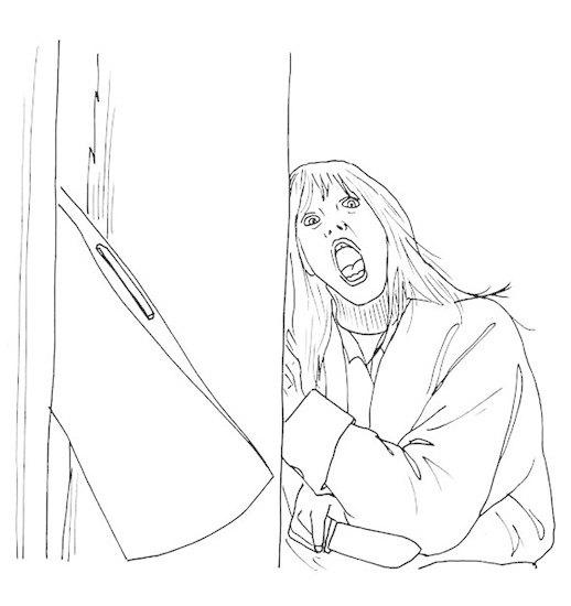 Книжку-раскраску с героями фильмов ужасов изъяли из продажи. Изображение № 5.