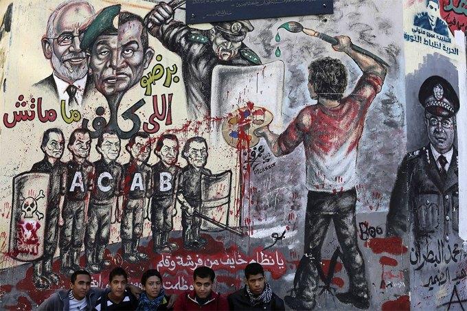 15 политических граффити из разных уголков мира. Изображение № 1.