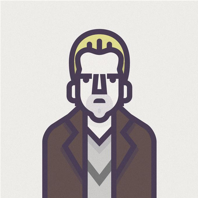 Coen Cast: Персонажи фильмов братьев Коэн в иллюстрациях дизайнера Ричарда Переса. Изображение № 12.
