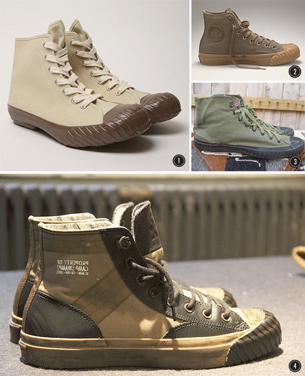 Дневной наряд: Как армейские кроссовки разных стран вдохновляют современных дизайнеров. Изображение № 4.