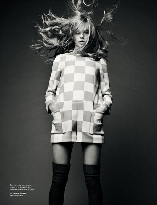 Фотограф Сольве Сундсбо снял 10 молодых моделей для журнала LOVE. Изображение № 5.