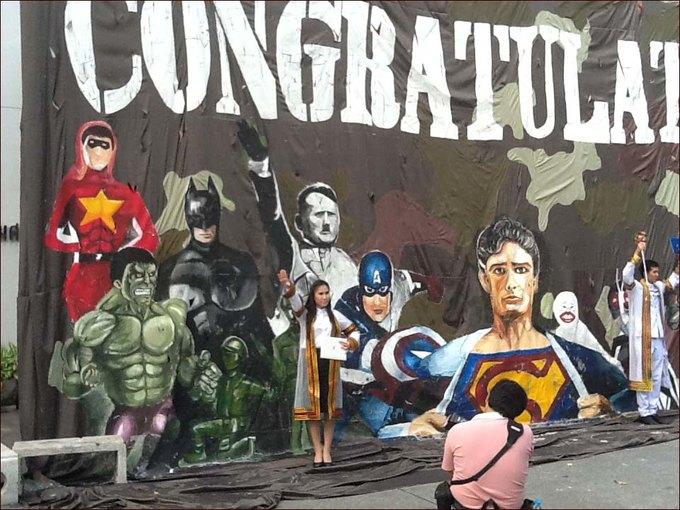 В Таиланде Гитлера причислили к супергероям из комиксов. Изображение № 1.