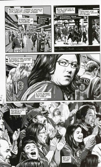 Marvel представили первого в истории супергероя-баскетболиста. Изображение № 3.