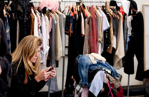 Дом моды: Репортаж со съемок видео модельного агентства. Изображение № 3.