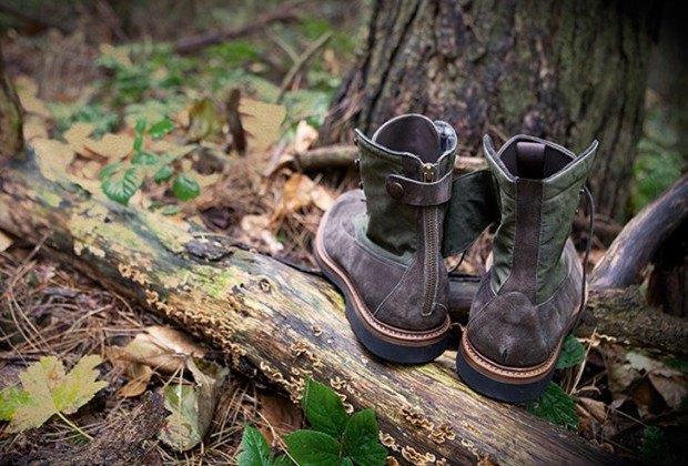 Марки Barbour и Forest of Gingko выпустили совместную модель обуви. Изображение № 2.