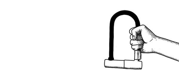Короткое замыкание: Основные удары велосипедным замком. Изображение №3.