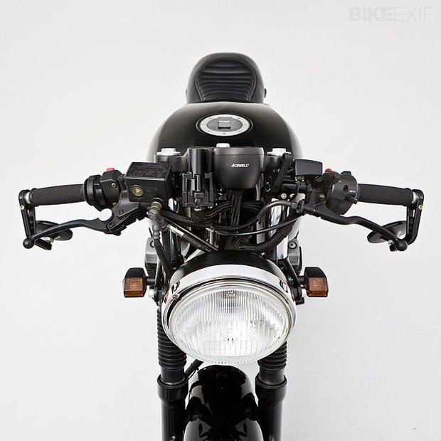Мастерская Ellaspede представила новый кастом на базе мотоцикла Yamaha XJR400. Изображение № 3.