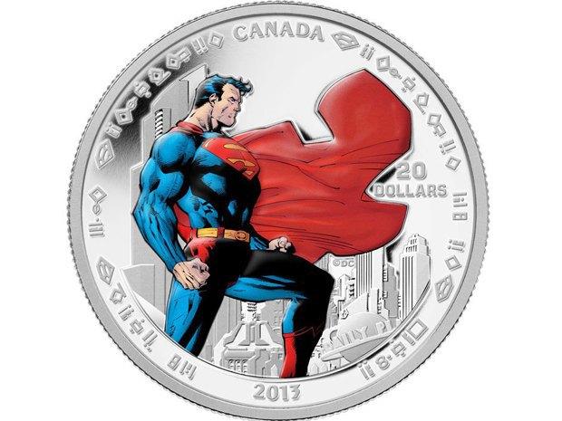 В Канаде выпустили коллекционные монеты с Суперменом. Изображение № 4.