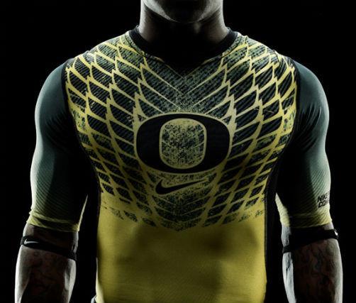 Футуристичная униформа команды Oregon Ducks. Изображение № 5.