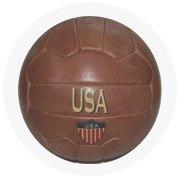 Находка недели: Винтажный футбольный мяч. Изображение № 4.
