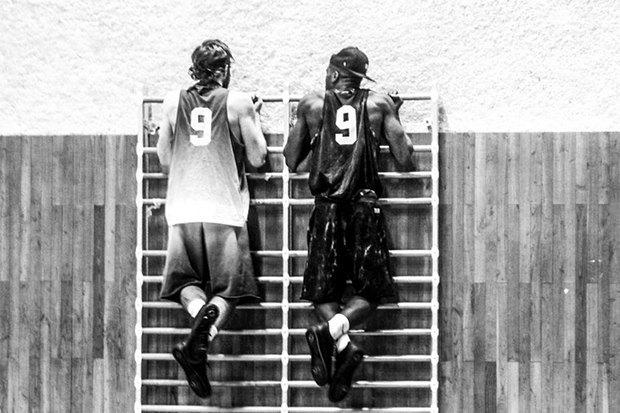 В сети появилось превью коллаборации Nike и Pigalle. Изображение № 11.