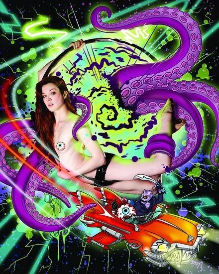 Американская марка Mishka выпустила необычный эротический календарь. Изображение № 3.
