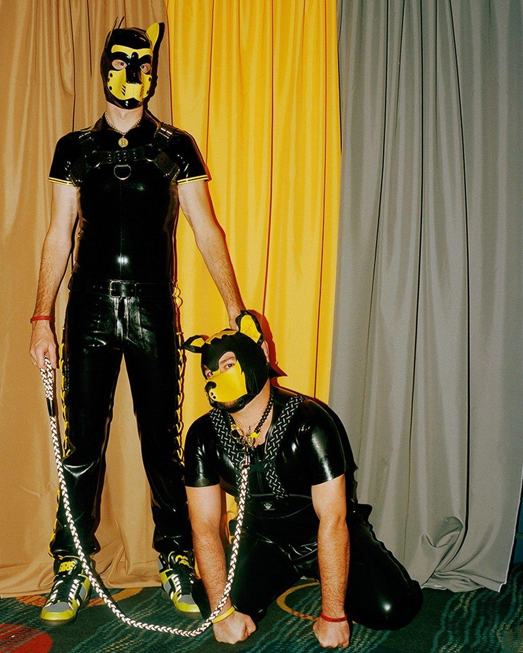 «Клуб укротителей»: Анималистический фетиш с перевоплощением в латексных щенят. Изображение № 9.