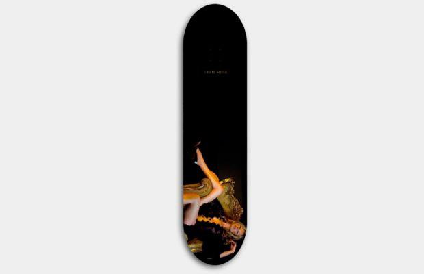 Художник Джефф Гаудинет выпустил серию дек для скейтбординга с портретами Кейт Мосс. Изображение № 9.