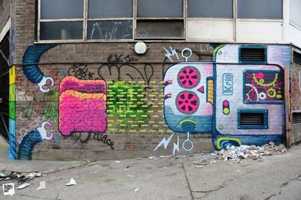 Google Street Art: Онлайн-музей граффити под открытым небом. Изображение № 39.