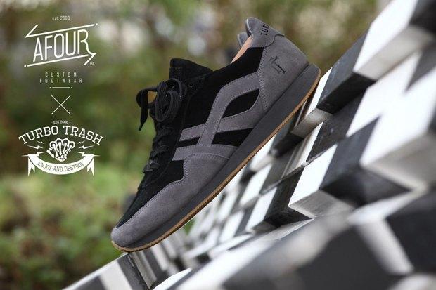 Марки Afour и TurboTrash выпустили совместную модель обуви. Изображение № 3.