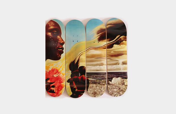 Коллекция дек для скейтбординга с принтом обложки альбома «Bitches Brew» Майлза Дэвиса. Изображение № 3.