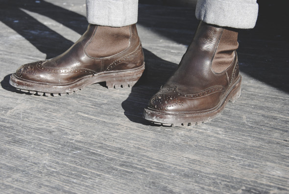 Детали: Репортаж с выставки мужской одежды Pitti Uomo. День второй. Изображение № 5.