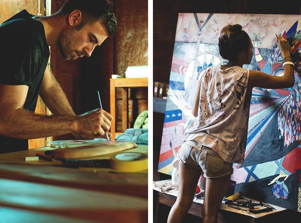 Гонки по пляжу, серфы и бесконечное лето: Репортаж из мастерской Deus Ex Machina на острове Бали. Изображение №24.